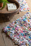 Chindi 100% Recycled Shaggy Rug