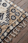 Westward Sand & Cream Shaggy Wool Rug
