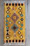 Tafsut Ochre 100% Recycled Cotton Rug