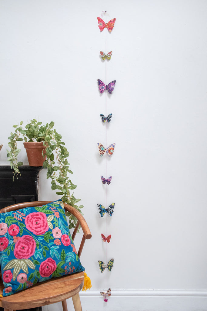 Paper Butterfly String
