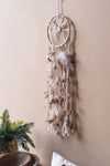 Macrame & Feather Dream Catcher