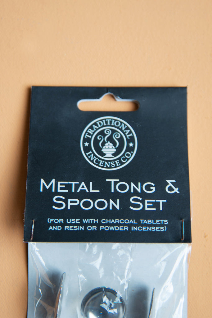 Incense Tong and Spoon Set