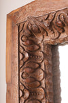 Richly Carved Vintage Mirror