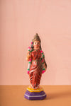 Vintage Indian Sacred Clay Statue - 87