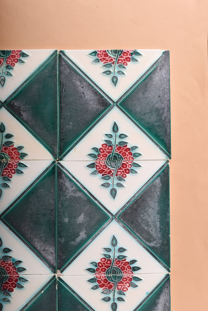 Vintage Ceramic Tile - Design 16