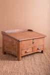 Vintage Wooden Low Desk