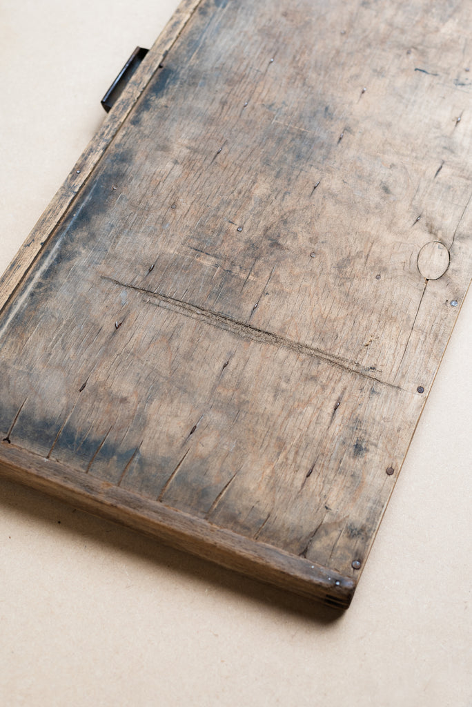 Vintage Wooden Printing Press Tray