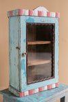 Colourful Vintage Glazed Display Case