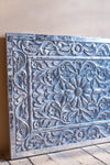 Antique Style Silver Carved MDF Wall Panel