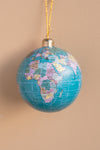 Recycled Plastic Globe Hanging Ornament