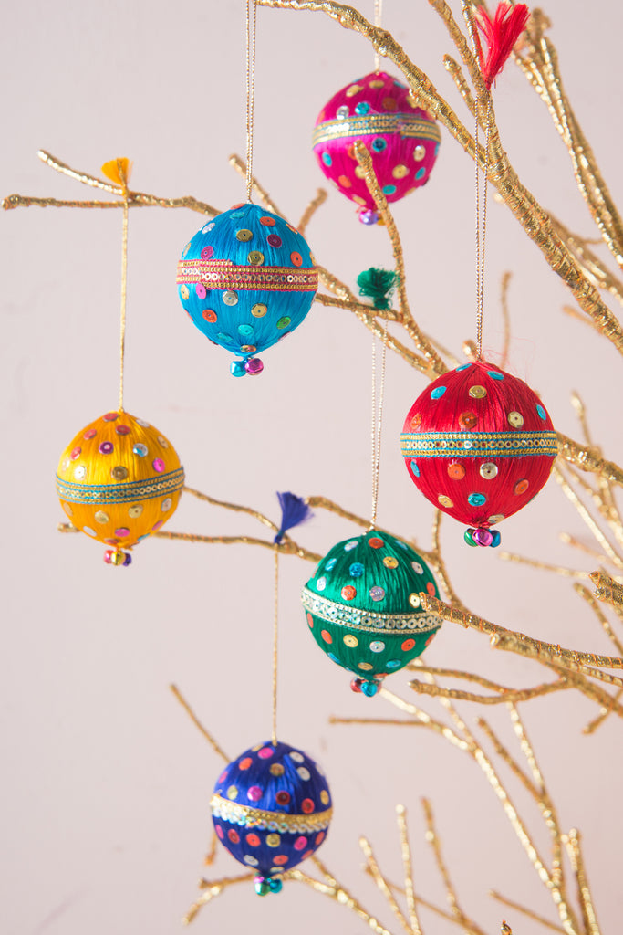 Sequined Christmas Bauble