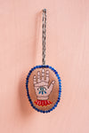 Embroidered Hamsa Hanging Ornament