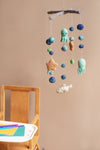 Felt Sealife Mobile Decoration