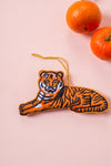 Plastic Free Tiger Decoration