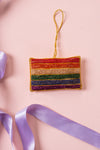 Plastic Free Rainbow Flag Decoration