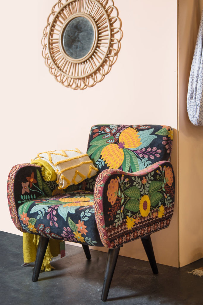 Galilahi Embroidered Armchair