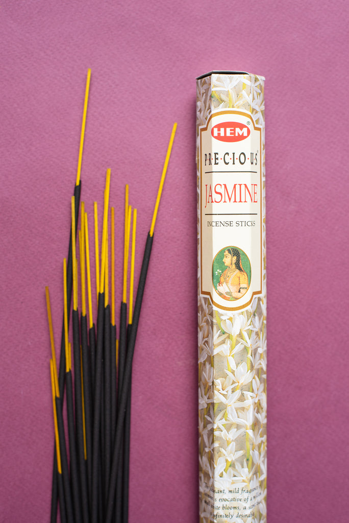 Hem Incense Precious Jasmine Hexagonal