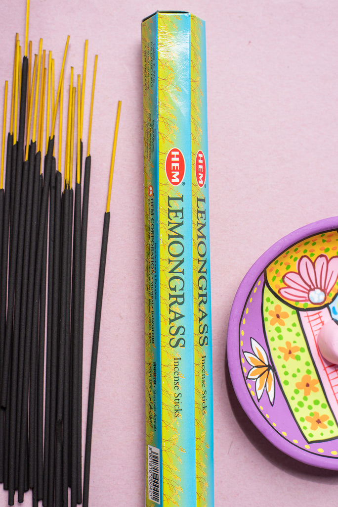 Hem Incense Lemongrass Hexagonal