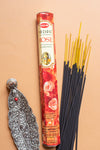 Hem Incense Precious Rose Hexagonal
