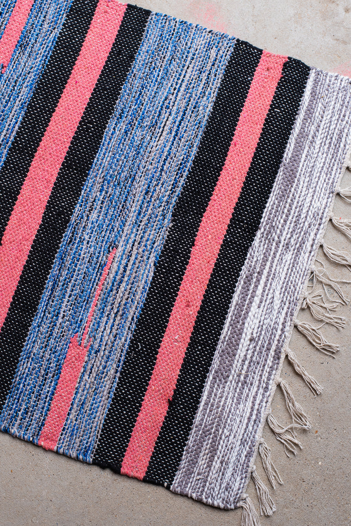 Colourful Cotton Cut-shuttle Rug