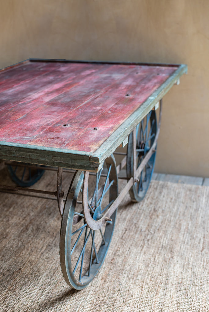 Vintage Cart Table