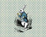 ohpopsi Alice In Wonderland White Rabbit Wall Mural