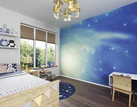 ohpopsi Look At The Stars Wall Mural