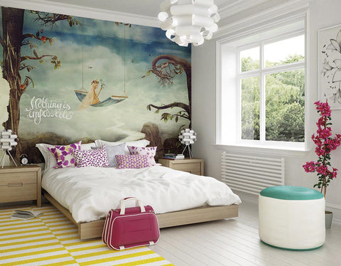ohpopsi Fairytale Wall Mural
