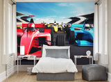 ohpopsi Racers Wall Mural