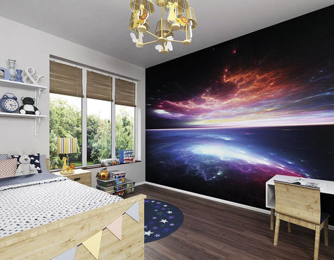 ohpopsi Electric Storm Wall Mural