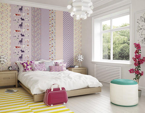 ohpopsi Houndstooth Wall Mural