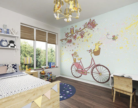 ohpopsi Care Free Day Wall Mural