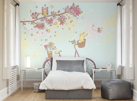 Ohpopsi care free day wall mural for A perfect day wall mural