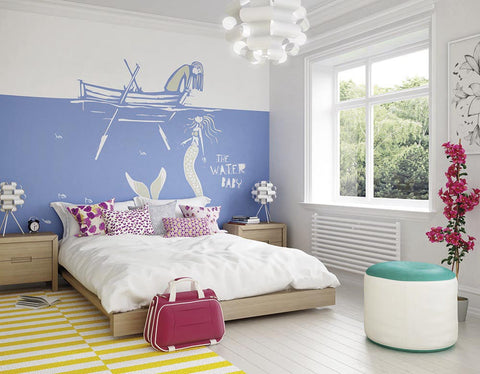 ohpopsi Water Baby Wall Mural