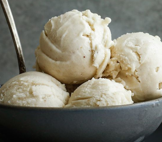 Dairy-Free Banana & Peanut Butter Ice-Cream