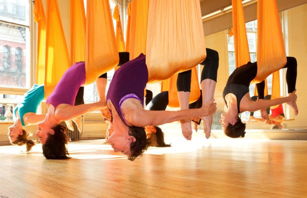 Flying High with Aerial Yoga