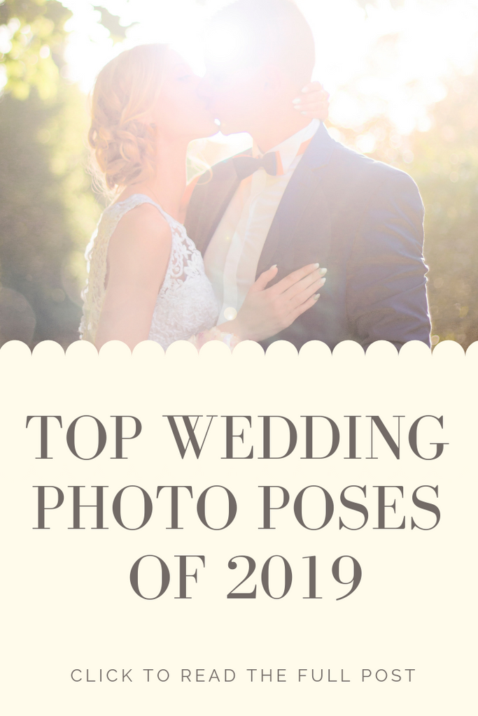 Top wedding photo pose ideas of 2019