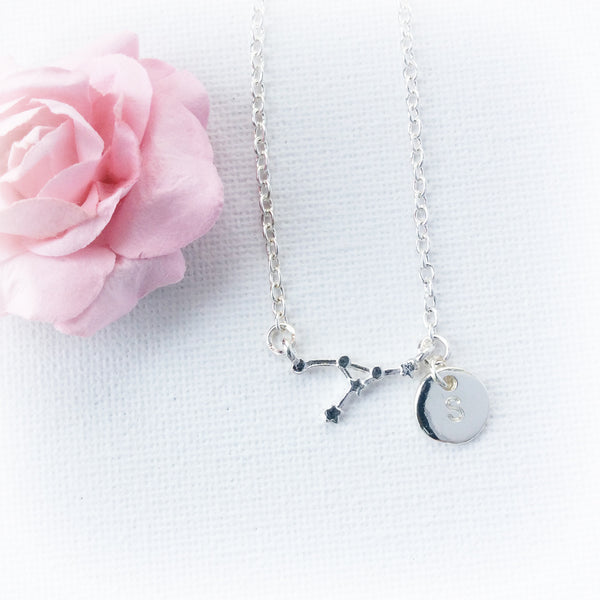 Cancer Zodiac Sign Astrology Charm Necklace | Statement Made Jewellery - Statement Made Jewellery
