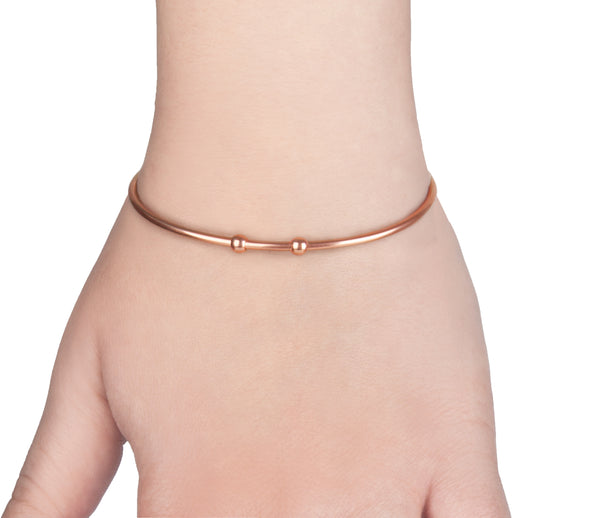 Happy 16th birthday sweet 16 rose gold engraved message personalised Bangle - Statement Made Jewellery