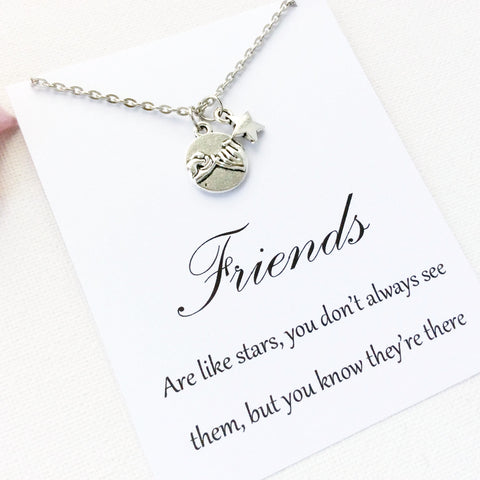 Friends necklace, friends are like stars, friends jewellery, friend jewellery, friends, friends are like stars, BMCNUNFRIE , Jewelry - Statement Made Jewelry, Statement Made Jewellery  - 2