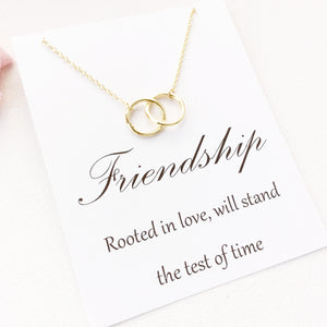 Friendship Rooted In Love Will Stand The Test Of Time Gold Message