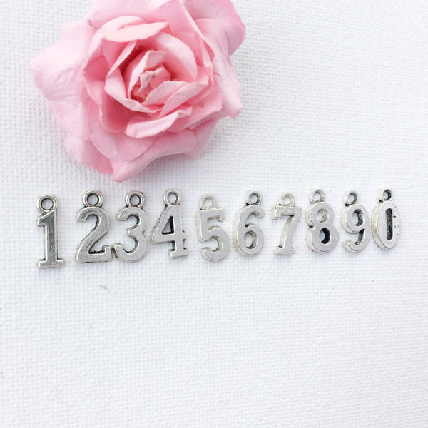 Add-on Number charm to add onto existing orders only! - Statement Made Jewellery
