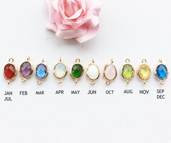 Birthstone necklace, february birthstone necklace, february birthday, Birthday gift, Bridesmaids gift, birthstone, Birthstone Pendant , Jewelry - Statement Made Jewelry, Statement Made Jewellery  - 2