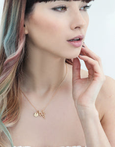Gold Pisces Zodiac Sign Astrology Charm Necklace | Statement Made Jewellery - Statement Made Jewellery