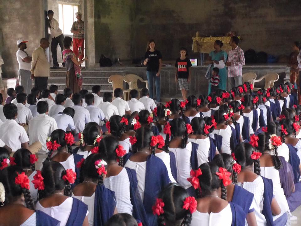 "NALU Requests 1000 School Uniforms for Rural India Children ""Made by Padukas"""