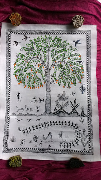 Warli Tribal Paintings