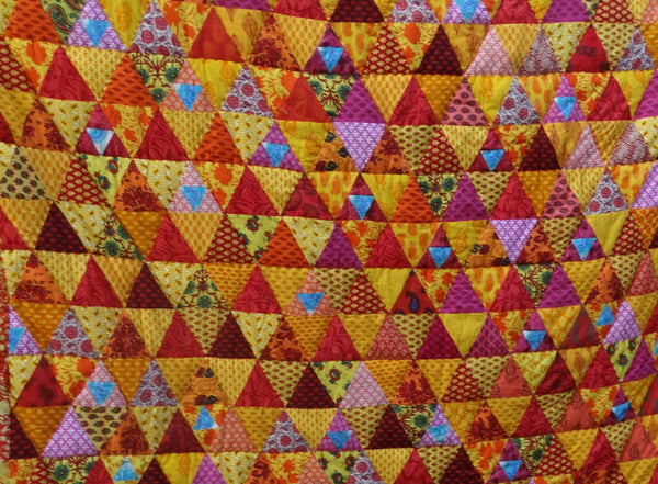 Quilt Made to Order:  Fruit Salad Quilt Designed by Kaffe Fassett