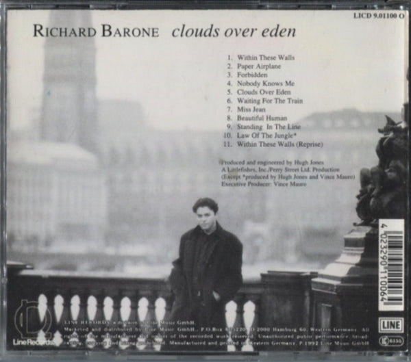 Barone, Richard - Clouds Over Eden