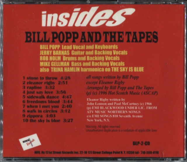 Bill Popp And The Tapes – Insides
