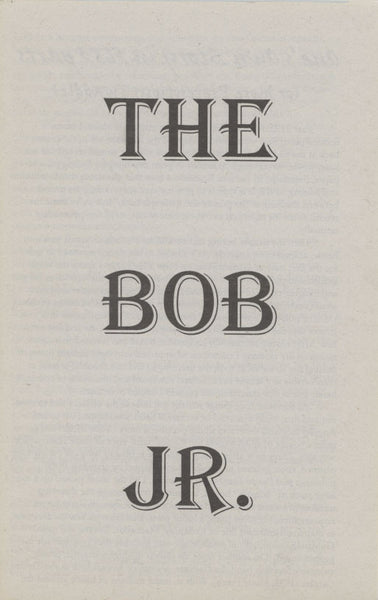 Bob Jr. - Vol 2, No. 3